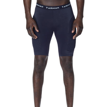 Protective Base Layer Intermediate Basketball Shorts Black - Men's