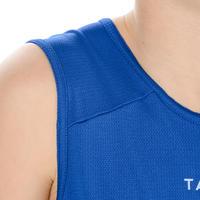 Maillot de basketball débutants bleu T100 - Garçons/Filles