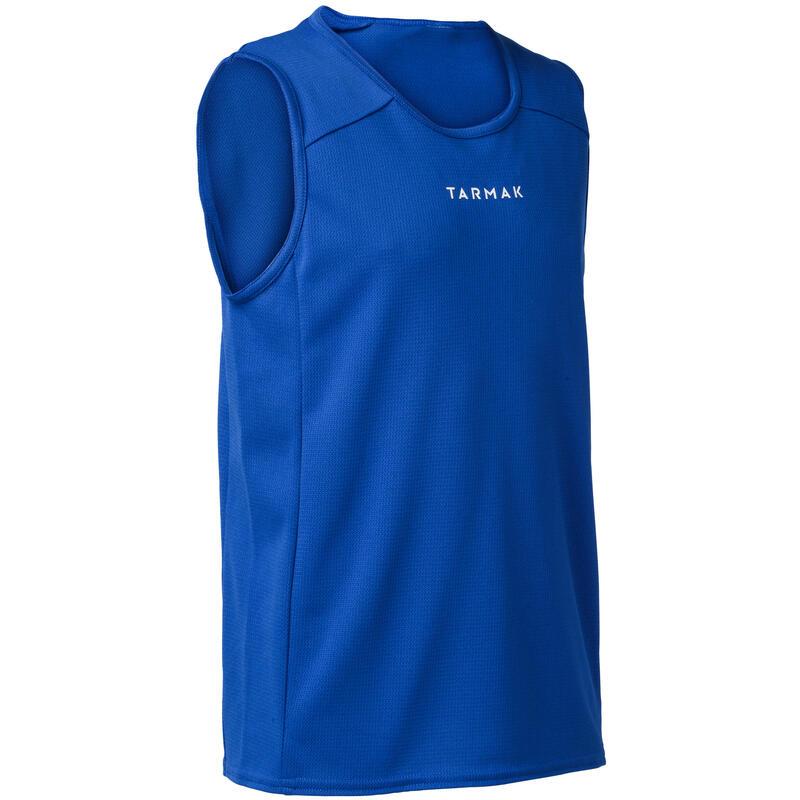 T100 Boys'/Girls' Beginner Basketball Jersey - Blue