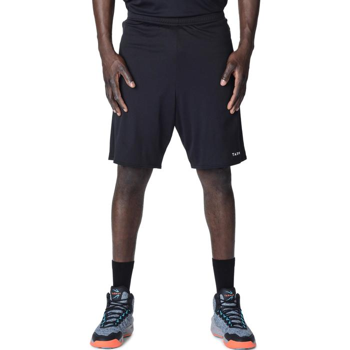 SHORT DE BASKETBALL HOMME SH100 NOIR