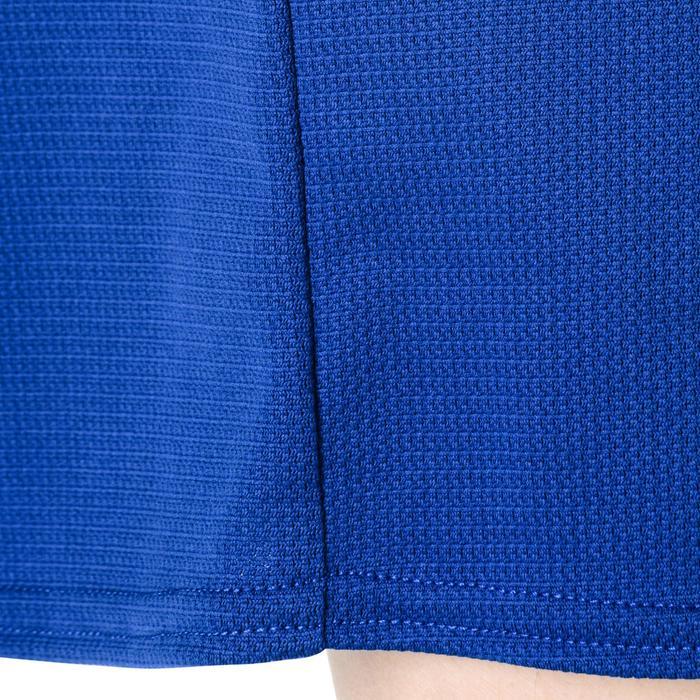 SHORT B300 DE BASKETBALL GARCON/FILLE POUR DEBUTANT BLEU