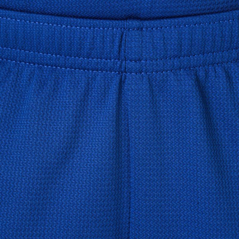 กางเกงบาสเก็ตบอลขาสั้นของเด็กผู้ชาย/ผู้หญิงรุ่น B300 สำหรับผู้เล่นมือใหม่ (สีน้ำเงิน)
