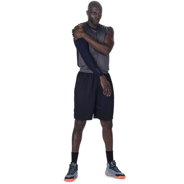 Ondersteunende basketbal arm sleeve heren/dames gevorderden zwart
