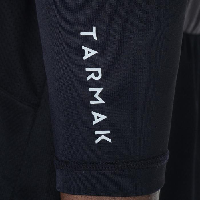 Beschermende basketbal arm sleeve voor volwassenen, voor gevorderden, zwart