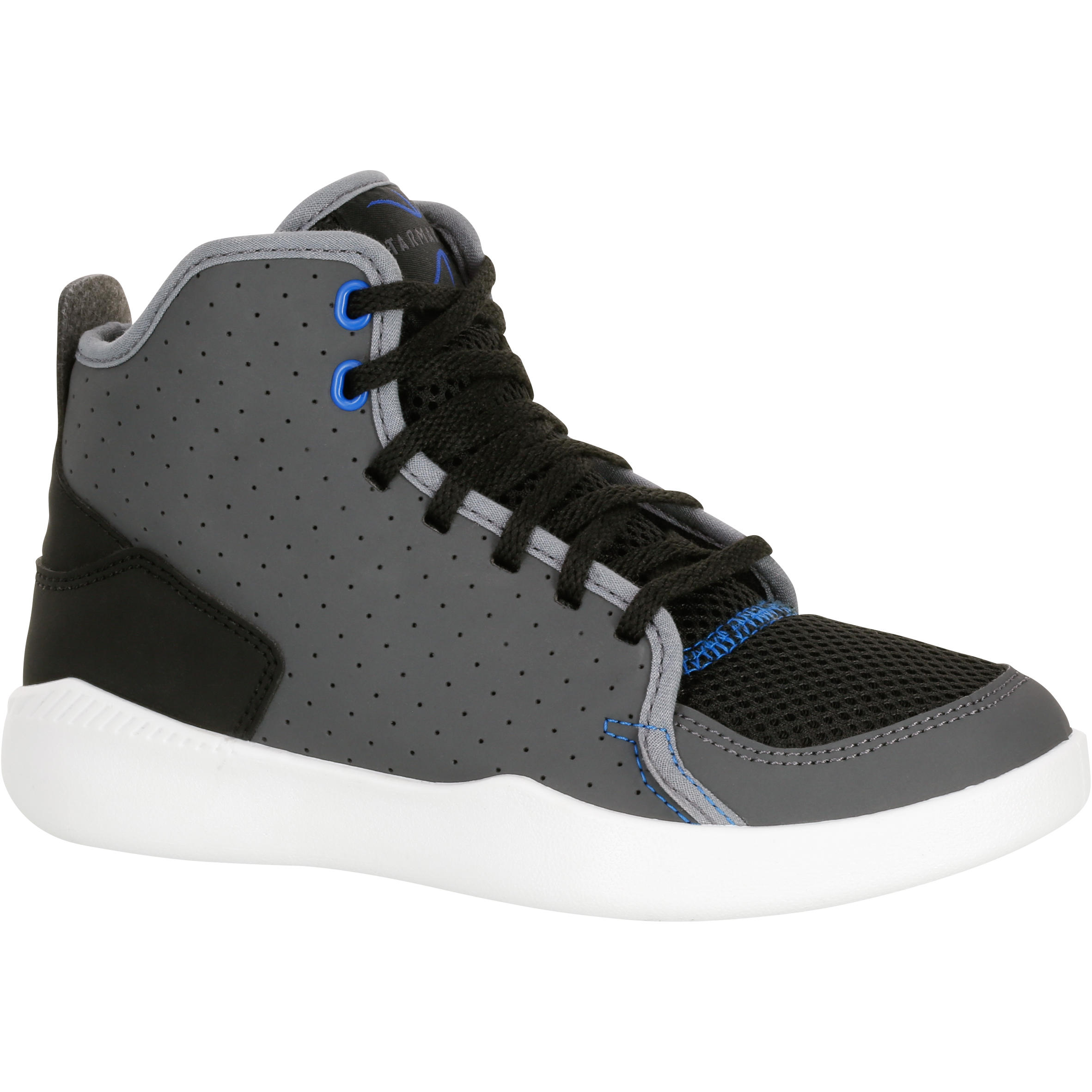 Chaussures de basketball enfant Shield 100 gris