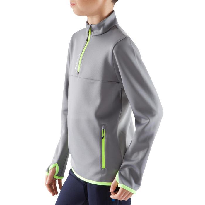 兒童半開式拉鍊美式足球訓練運動衫
