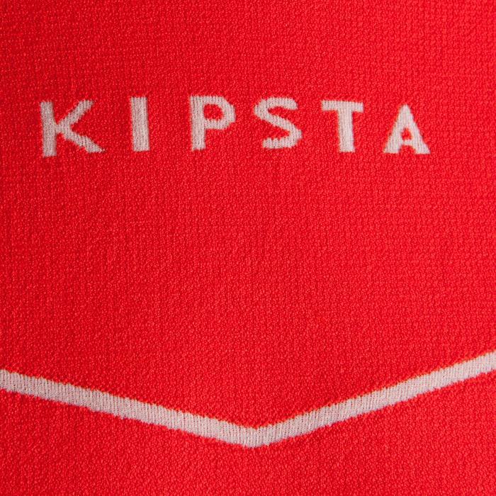 Sous maillot respirant manches longues enfant Keepdry 500 rouge