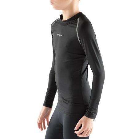 Sous-vêtement enfant Respirant 100 noir uni