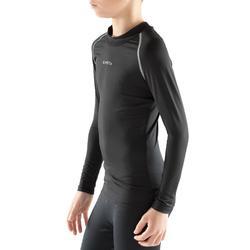 Sous-vêtement enfant Keepdry 100 noir uni