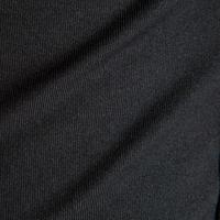 Camiseta térmica transpirable manga larga para niños Keepdry 100 negro liso