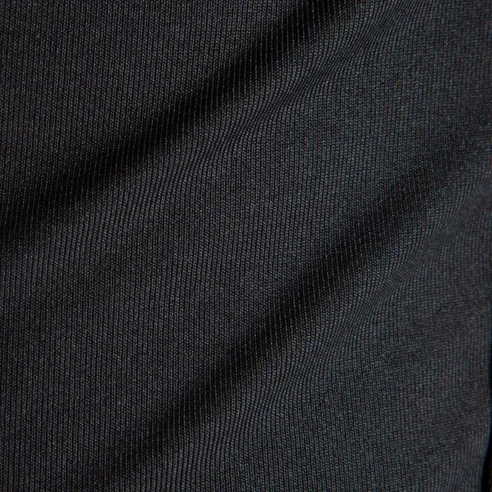 Funktionsshirt Keepdry 100 atmungsaktiv Kinder schwarz