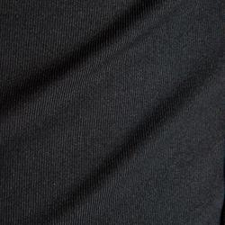 Funktionsshirt langarm Keepdry 100 atmungsaktiv Kinder schwarz