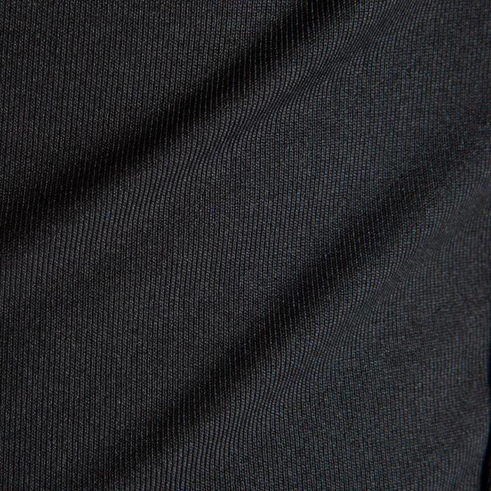 Sous maillot respirant manches longues enfant Keepdry 100 noir uni