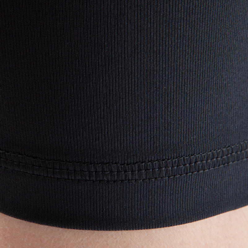 Pantalón corto térmico transpirable niños Keepdry negro