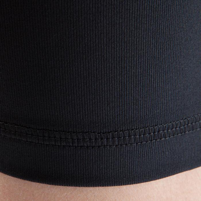 Pantalón Térmico Corto Kipsta KDRY100 Niño Negro