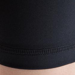 Sous short de football enfant Keepdry 100 noir