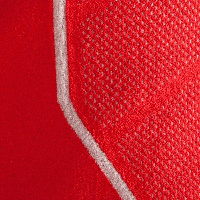 Funktionsshirt Keepdry 500 atmungsaktiv Kinder rot