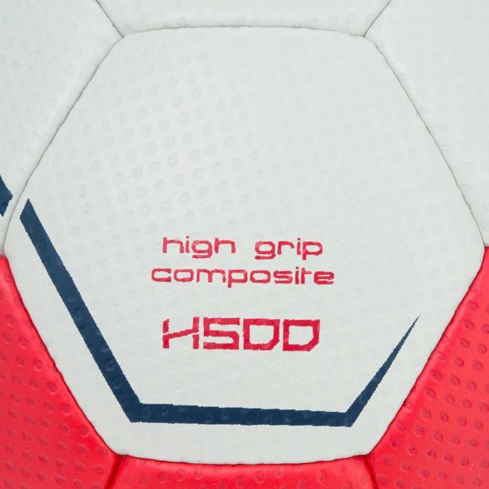 Ballon de handball hybride H500 Taille 2 rouge et - 1187304