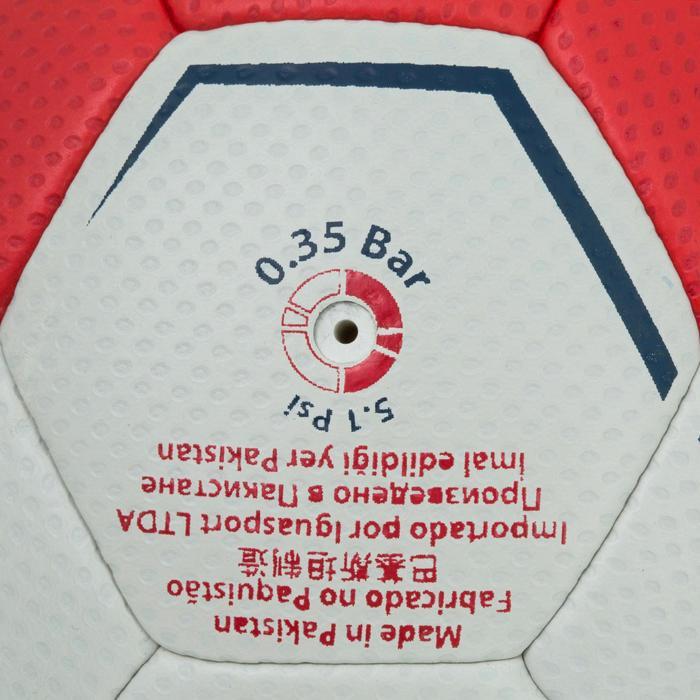 Ballon de handball hybride H500 Taille 2 rouge et - 1187307