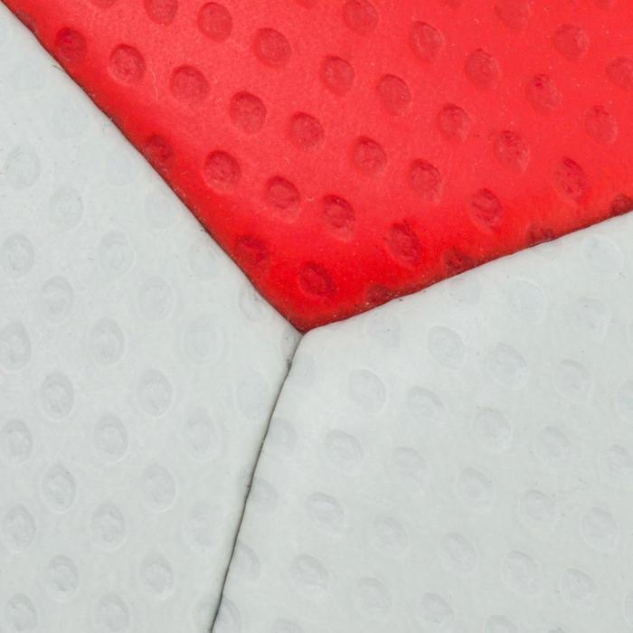 Ballon de handball hybride H500 Taille 2 rouge et - 1187310
