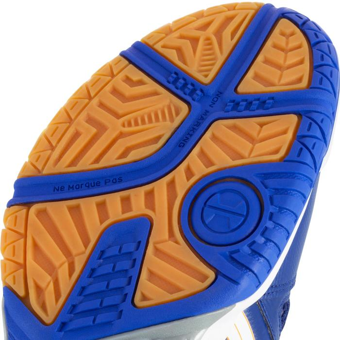 Chaussures de volley-ball homme Asics Gel Spike bleues, blanches et oranges - 1187315