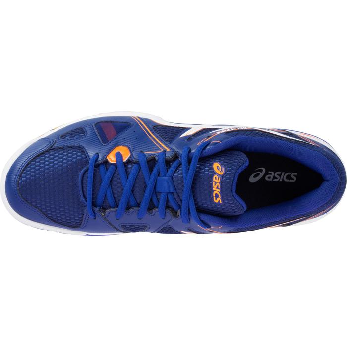 Chaussures de volley-ball homme Asics Gel Spike bleues, blanches et oranges - 1187317
