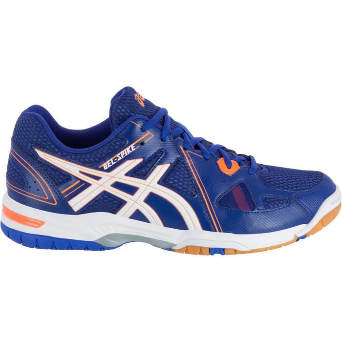 Chaussures de volley-ball homme Asics Gel Spike bleues, blanches et oranges - 1187318