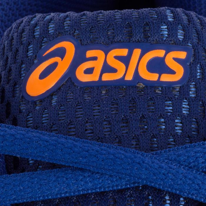Chaussures de volley-ball homme Asics Gel Spike bleues, blanches et oranges - 1187320