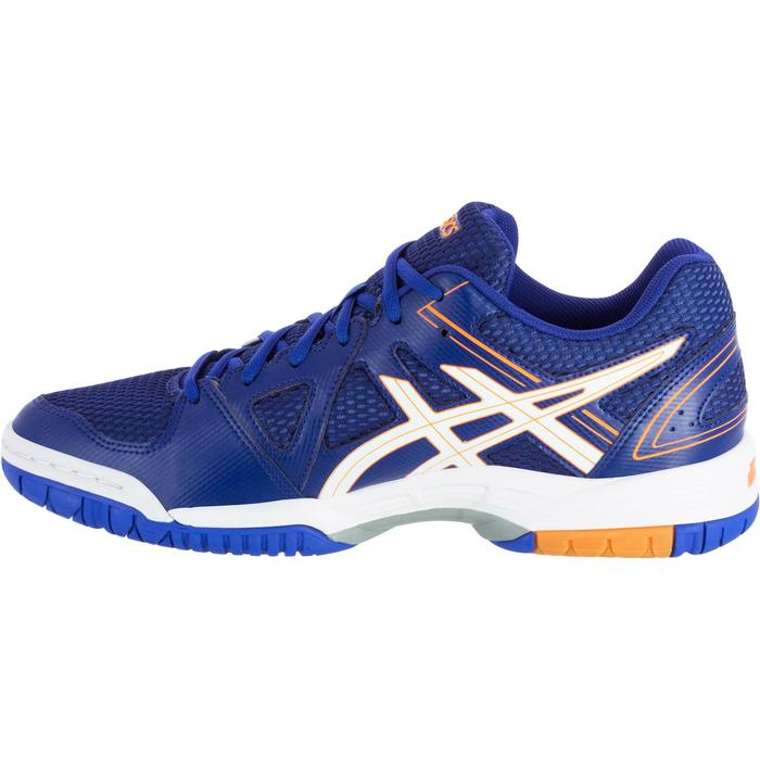 Chaussures de volley-ball homme Asics Gel Spike bleues, blanches et oranges - 1187321