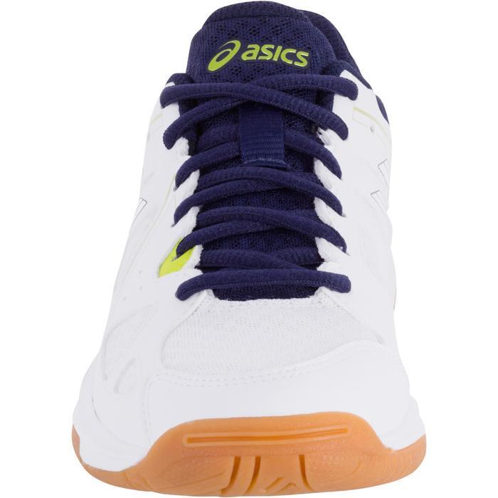Chaussures de volley-ball Junior Asics Gel Spike blanches et bleues - 1187324