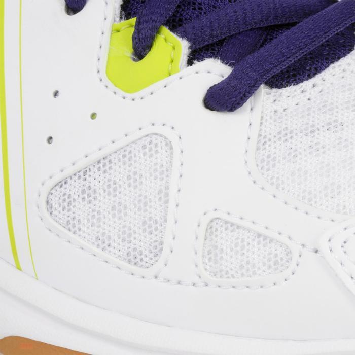 Volleybalschoenen Asics Gel Spike voor kinderen wit en blauw