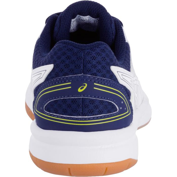 Chaussures de volley-ball Junior Asics Gel Spike blanches et bleues - 1187328
