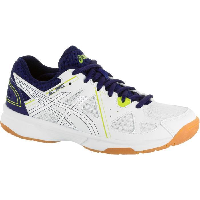 Chaussures de volley-ball Junior Asics Gel Spike blanches et bleues - 1187329