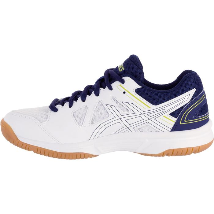 Chaussures de volley-ball Junior Asics Gel Spike blanches et bleues - 1187331