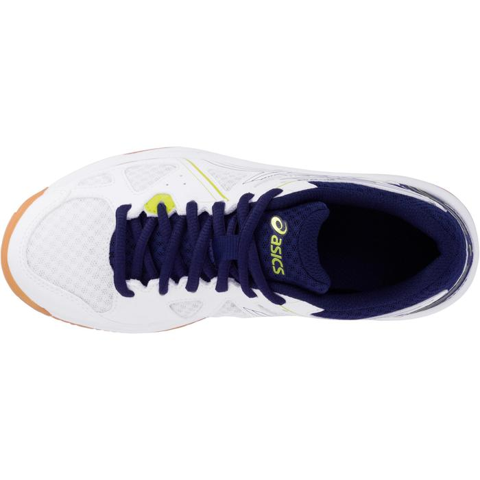 Chaussures de volley-ball Junior Asics Gel Spike blanches et bleues