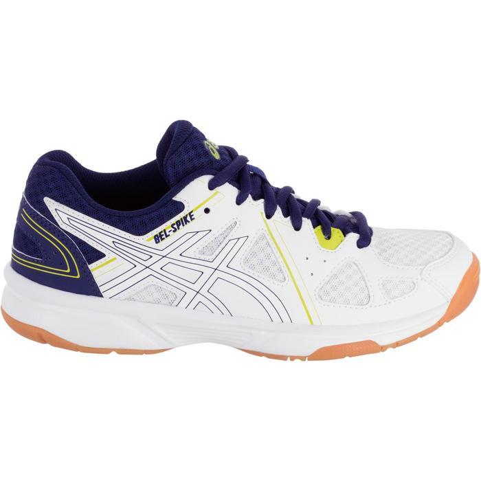 Chaussures de volley-ball Junior Asics Gel Spike blanches et bleues - 1187333