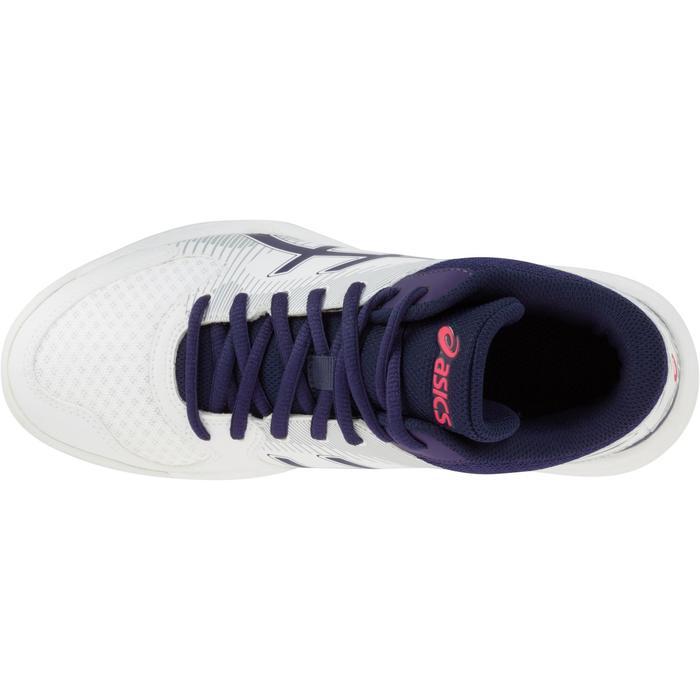 Chaussures de volley-ball femme Asics Gel Task blanches et bleues - 1187334