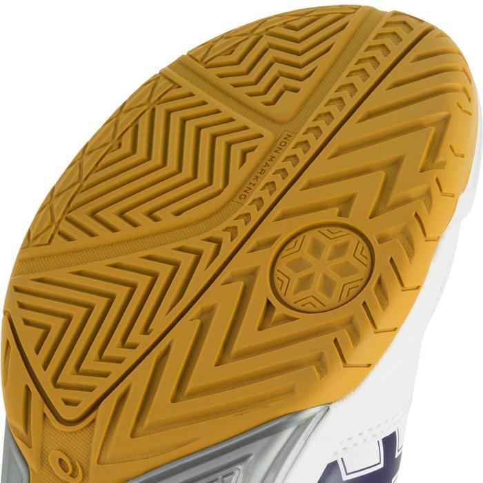 Chaussures de volley-ball femme Asics Gel Task blanches et bleues - 1187336