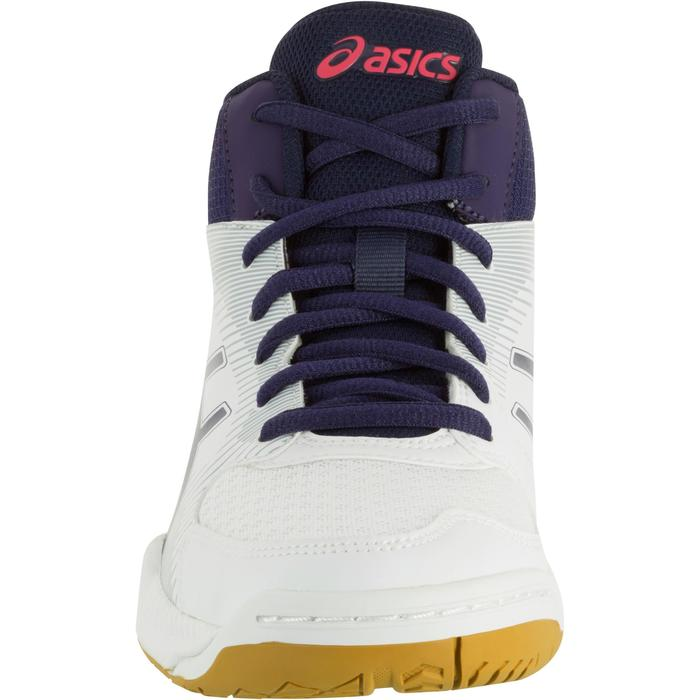 Chaussures de volley-ball femme Asics Gel Task blanches et bleues - 1187337
