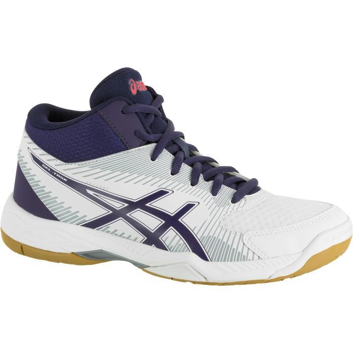 Chaussures de volley-ball femme Asics Gel Task blanches et bleues - 1187339