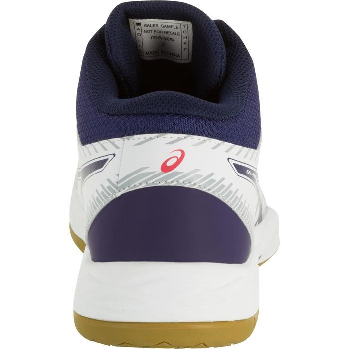 Chaussures de volley-ball femme Asics Gel Task blanches et bleues - 1187340