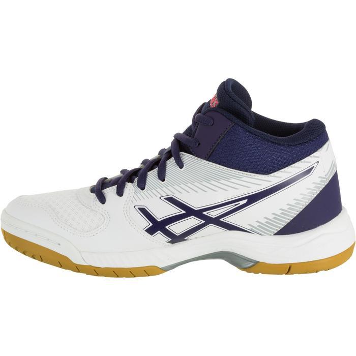 Chaussures de volley-ball femme Asics Gel Task blanches et bleues - 1187343