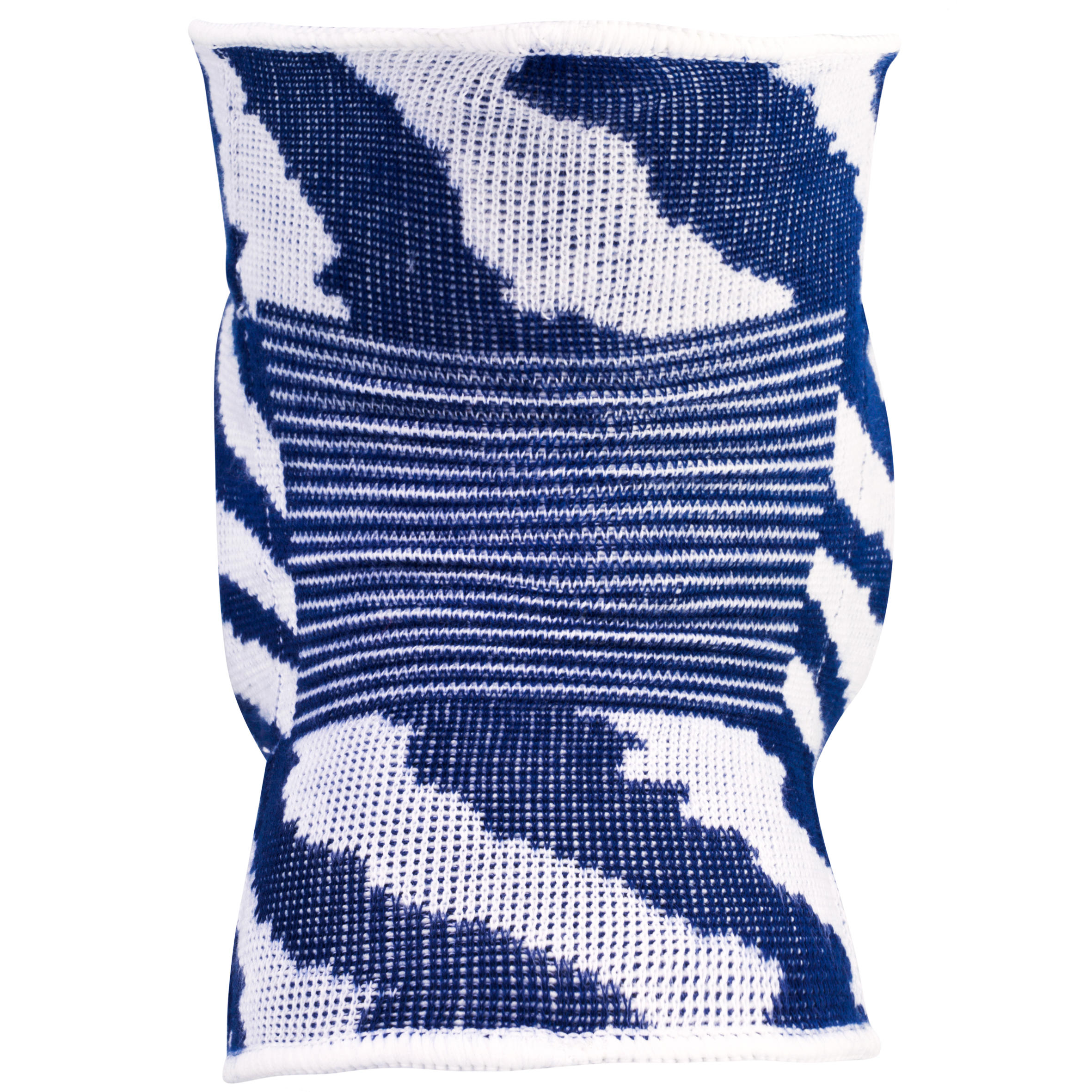 V500 Volleyball Knee Pads - White/Navy Blue