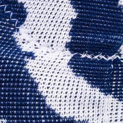 Rodilleras de voleibol V500 blanco y azul marino