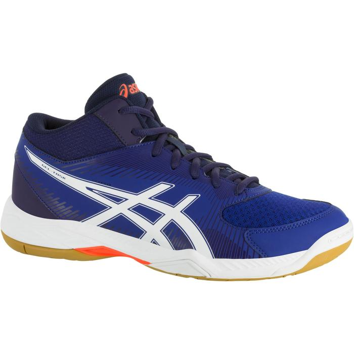 Chaussures de volley-ball homme Asics Gel Task marines et blanches - 1187357