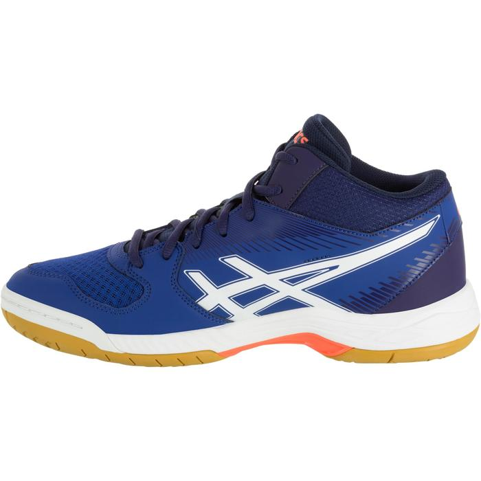 Chaussures de volley-ball homme Asics Gel Task marines et blanches - 1187358