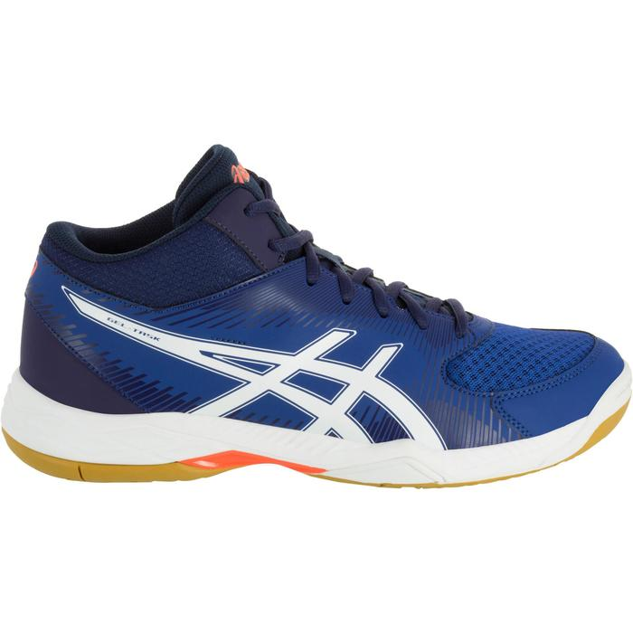 Chaussures de volley-ball homme Asics Gel Task marines et blanches - 1187359