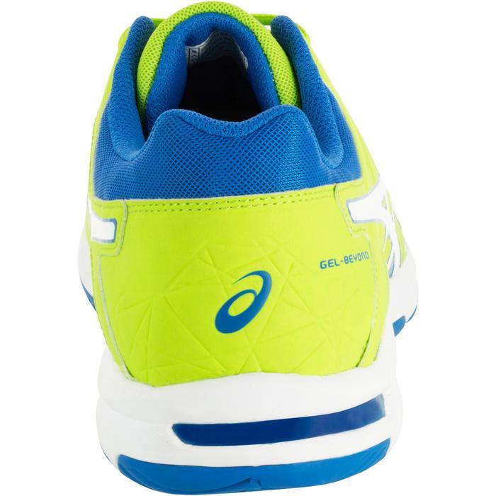 Chaussures de volley-ball homme Asics Gel Beyond jaunes et bleues - 1187376