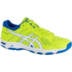 Chaussures de volley-ball homme Asics Gel Beyond jaunes et bleues