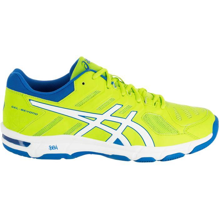 Chaussures de volley-ball homme Asics Gel Beyond jaunes et bleues - 1187381